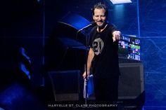 Eddie Vedder - Pearl Jam at Greenville, SC, 16 Apr 2016. #eddievedder #pearljam #livemusic #concertphotography
