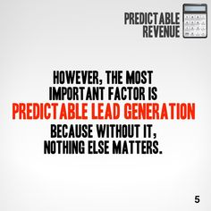 Predictable Revenue in 60 seconds. Want the version? Get a free Readitfor.me account. Nothing Else Matters, Lead Generation, Thing 1 Thing 2, Accounting, Singing, This Book, Books, Free, Livros