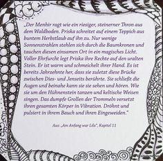 "Auszug aus Kapitel 11 meines Blogromans ""Am Anfang war Lila""."
