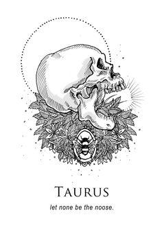Taurus - Shitty Horoscopes Book IX: The Body and The Wreckage by musterni Taurus Art, Taurus Quotes, Taurus And Gemini, Zodiac Art, Astrology Zodiac, Zodiac Signs, Dark Astrology, Horoscope Capricorn, Capricorn Facts