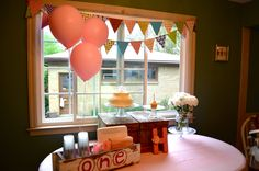 first birthday party!