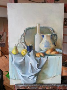 Piromanova Still Life Drawing, Still Life Oil Painting, Simple Acrylic Paintings, Modern Art Paintings, 8th Grade Art, Oil Painting Texture, Fashion Painting, Sketch Painting, Painting Lessons