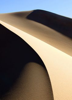 Mesquite Sand Dunes in Death Valley National Park