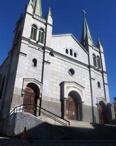 Iglesia en Cerro Alegre en Valparaíso.