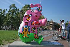 Elephant Parade by Meteorry, via Flickr