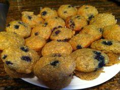 qunioa blueberry muffins