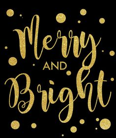 Merry And Bright Merry And Bright, Gold, Black, Black People