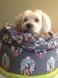 Märchenbett für Hunde, von Signe - Schritt für Schritt Anleitung