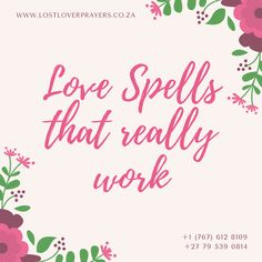 When a person feels that his or her partner is not completely committed, they cannot live a peaceful life. In this case, our marriage commitment spells are meant for them. Casting these spells makes the other person become committed to you. Spells That Really Work, Real Love Spells, Powerful Love Spells, Cast A Love Spell, Love Spell That Work, Most Powerful Dua, Spelling Online, Bring Back Lost Lover, Love Spell Caster