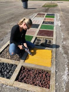 Myers' Kindergarten: Creating Our Barefoot Sensory Path and the Importance of Outdoor Play Outdoor Learning Spaces, Outdoor Play Areas, Outdoor Activities For Kids, Natural Playground, Backyard Playground, Outdoor School, Outdoor Classroom, Sensory Wall, Sensory Boards