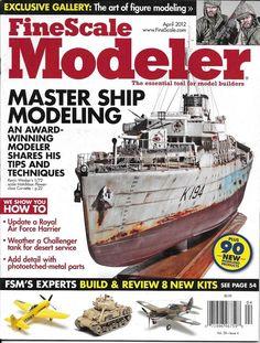 Fine Scale Modeler magazine Master ship modeling Royal Air Force Harrier Figures