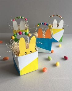 Wo versteckt sich der Osterhase? Im Osterkörbchen. Basteln, Upcycling, Ostern, mit Kindern; DIY, tutorial, easter kid craft, easterbasket, schaeresteipapier