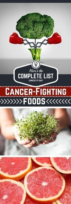 Complete List of Cancer-Fighting Foods