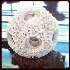 Ball-in-ball ivory sculpture has 48 layers. Bone Carving, Ivoire, Lovely Things, Sculptures, Africa, Artsy, Crafts, Inspiration, Decor