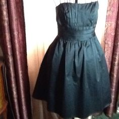 """SEXY  """"DAVID'S BRIDAL""""  NWOT LITTLE BLACK DRESS Brand new, never worn.  Beautiful and in perfect new condition.  Lined skirt, strapless, and professionally made.  Purchased for wedding that went awry.  Gorgeous! David's Bridal Dresses"""