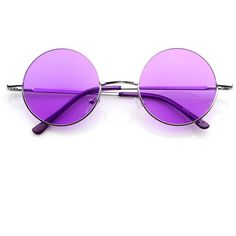 Retro Hippie Fashion Metal Lennon Round Sunglasses Color Lens 8594 ($9.99) ❤ liked on Polyvore featuring accessories, eyewear, sunglasses, glasses, jewelry, hippy sunglasses, round frame glasses, round glasses, lens sunglasses and hippie glasses