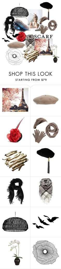 """""""Wrapt up (Scarves)"""" by bridget-robinson ❤ liked on Polyvore featuring Fay et Fille, Gucci, Piers Atkinson, Philip Treacy, John Lewis, Chanel, Yves Saint Laurent, Barbour, Sia and Home Decorators Collection"""