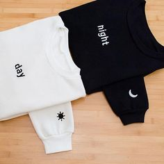 Waaanntttt – Bff Kleidung - To Have a Nice Day Best Friend T Shirts, Bff Shirts, Best Friend Outfits, Bff Sweatshirts, Matching Outfits Best Friend, Best Friend Clothes, Bff Clothes, Couple Clothes, Couple Items