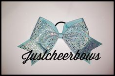 Glass Slipper Bow www.justcheerbows.com