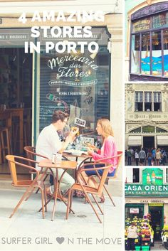In this 4 amazing stores you'll find traditional Portuguese brands. #Porto #Portugal #Travel