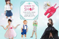 kids wear showroom to buy best baby clothes and dresses in Jaipur city.