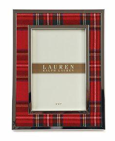 Lauren Ralph Lauren Picture Frame, Clearly Tartan 5 x 7 - Lauren Ralph Lauren - Dining & Entertaining - Macy's