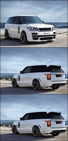 White Range Rover. If I had a billion dollars