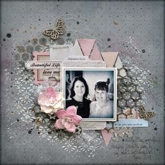 #Papercraft #scrapbook #layout. by Helen Tilbury for Scrap Around The World