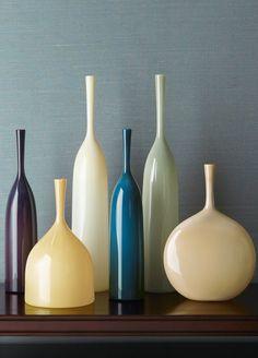 Joe Cariati Glass Flask