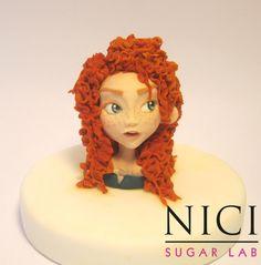 Merida - the Brave - Cake by Nici Sugar Lab