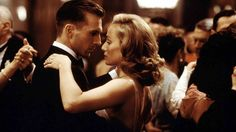 Ralph fiennes and Kristin scott thomas in The English Patient (1996)