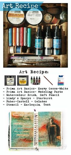 Finnabair: Art Recipe: Out of Ordinary...