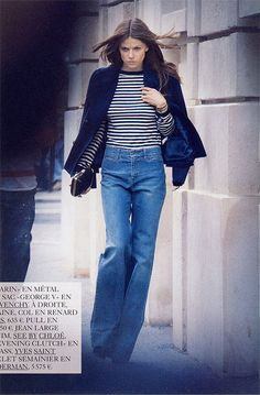 {style inspiration : denim when the leaves are falling} by {this is glamorous}, via Flickr