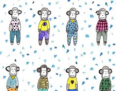 "Check out new work on my @Behance portfolio: ""Pijama party"" http://be.net/gallery/31907641/Pijama-party"