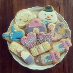 Doc mcstuffins decorated cookies set