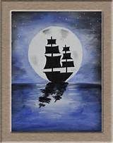 easy silouhette painting ideas on canvas - - Yahoo Image Search Results