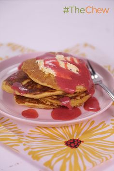 No brunch is complete without these quick and easy Cornmeal Griddle Cakes!
