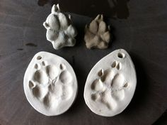 Capture a paw print for posterity with this kit.
