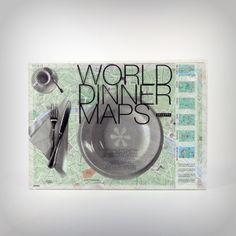 World Dinner Maps