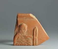 African red slip ware sherd with Petrus 3