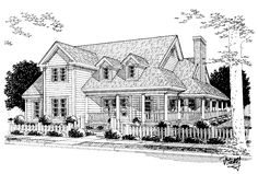 Farmhouse House Plan with 2380 Square Feet and 4 Bedrooms(s) from Dream Home Source | House Plan Code DHSW17604 Rustic House Plans, Farmhouse Plans, Garage Ideas, 31 Ideas, Car Garage, Square Feet, House Ideas, Floor Plans, Country