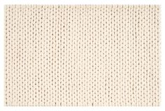 Fargo Braided Rug, Winter White