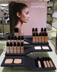 chanel cosmetic display - Google Search                                                                                                                                                      More