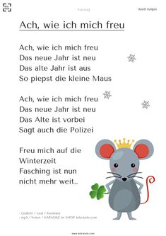 """""""Ach, wie ich mich """" Gedicht zu Neujahr - You are in the right place about Education Level infographic Here we offer you the most beautiful pictures about the Educati I Am Poem, German Resources, Kindergarten Portfolio, How To Speak Chinese, German Language Learning, School Life, School 2017, Social Science, Foreign Languages"""