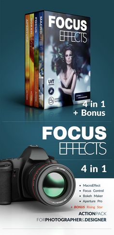 Focus Effect Action Bundle — Photoshop ATN #dwarf #beauty • Available here → https://graphicriver.net/item/focus-effect-action-bundle/14890176?ref=pxcr