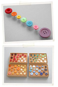 Vintage Button Push Pins...perfect for other projects that I will hopefully get around to one day...
