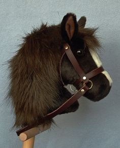 Dark brown hobby horse