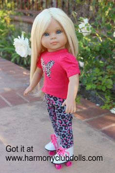 "HARMONY CLUB DOLLS 18"" Doll Clothes to fit American Girl. <a href=""http://www.harmonyclubdolls.com"" rel=""nofollow"" target=""_blank"">www.harmonyclubdo...</a>"