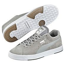 Suede S Modern Tech Trainers: The PUMA Suede is definitely the most well-known and popular of all PUMA shoes and rightly deserves its place in every Hall of Fame. Our icon is now hitting the shelves once again with a new look.   Comfortable suede upper.   Mesh tongue for increased breathability.   Padded collar and tongue for more cushioning.   Moulded sockliner for increased convenience.   Rubber outsole for an optimum grip.