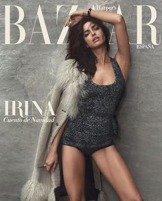 Closing out the year, Irina Shayk lands not one but two covers for the December 2015 issue of Harper's Bazaar Spain. The Russian babe poses for Norman Jean Roy in sexy looks styled by Anya Ziourova. On the newsstand cover (featured above), Irina wears a bodysuit with fur, while on the second she wears a …